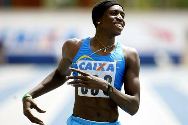 Amy Mbacké Thiam of Senegal, a season's best in Belem (Wander Roberto Oliveira/CBAt)