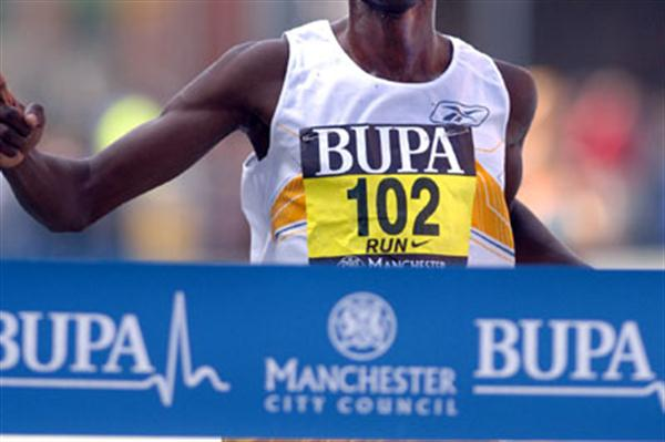 27:21 victory for Micah Kogo in Manchester (Andy Brooks)