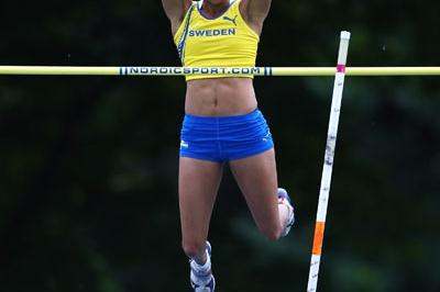 Angelica Bengtsson of Sweden wins the Pole Vault final (Getty Images)