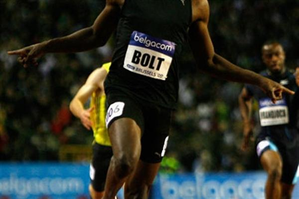 World record-holder Usain Bolt wins the 200m by more than half a second (Getty Images)