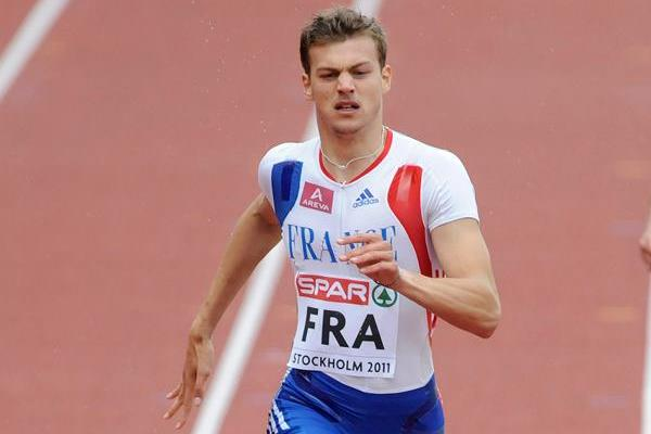 Christophe Lemaitre polishes off his double in Stockholm with a dominating 200m win (DECA Text&Bild)