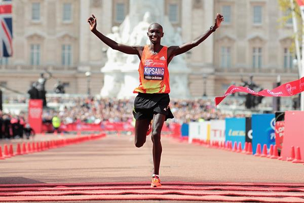 Sensational London debut for Wilson Kipsang (Getty Images)
