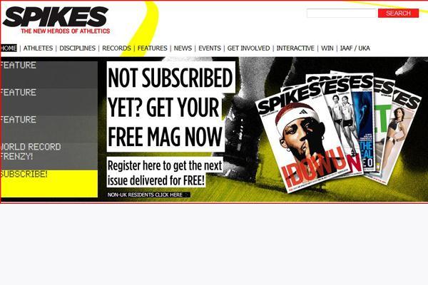 SPIKES (IAAF.org)