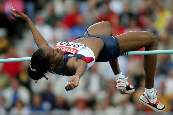 Chaunte Howard of the USA in the women's High Jump (Getty Images)