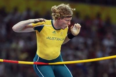 Steve Hooker, Olympic pole vault champion (Getty Images)
