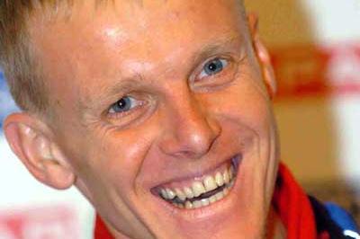 Sergiy Lebid of Ukraine in Tilburg at the EAA press conference (Hasse Sjögren)