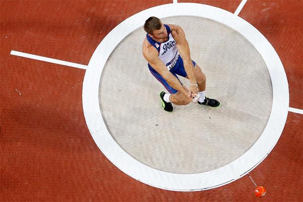 Czech hammer thrower Lukas Melich (Getty Images)