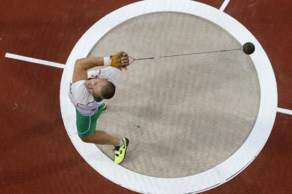 Hungarian hammer thrower Krisztian Pars (Getty Images)