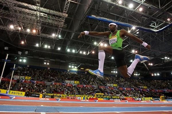 Philips Idowu soars to a 17.57m leap in Birmingham (Getty Images)