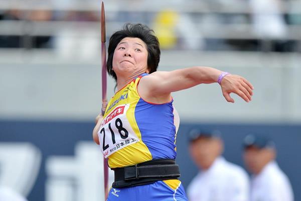 Yuki Ebihara, winner of the Javelin at the Japanese Championships (Getty Images)