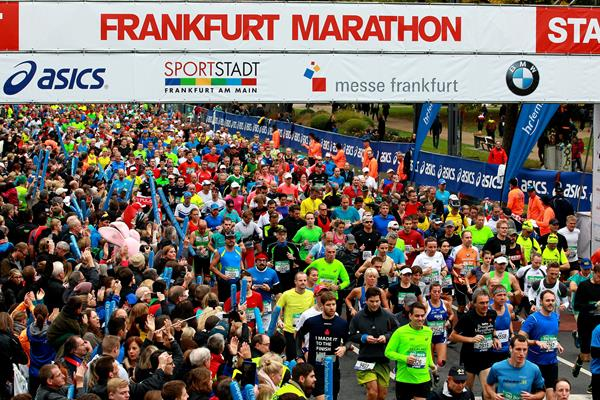start of the 2015 Frankfurt Marathon (Victah Sailer / organisers)