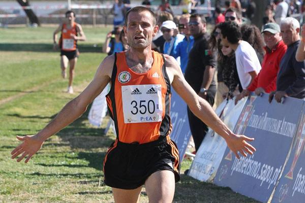 Portugal's Manuel Damião in Albufeira at the Almond Blossom Cross Country (Marcelino Almeida)