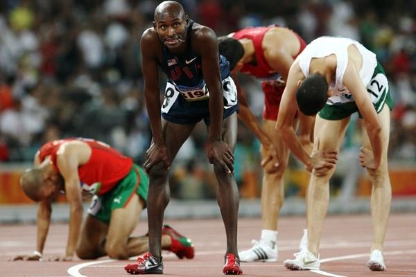 World champion Bernard Lagat fails to qualify for the men's 1500m Olympic final (Getty Images)
