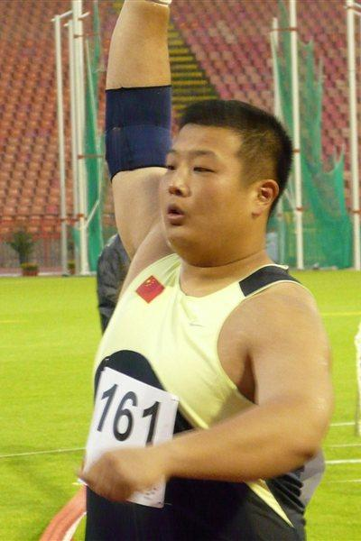 World University Games runner-up Zhang Jun (Hans van Kuijen)