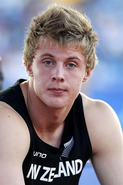 Jacko Gill, New Zealand's first male World Junior gold medallist (Getty Images)