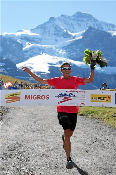 American Stevie Kremer wins 9th WMRA World Long Distance Mountain Running Challenge 2012 (swiss-images.ch)