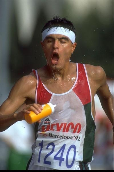 One of Jerzy Hausleber's many charges - 1992 Olympic 50Km Walk silver medallist Carlos Mercenario (Getty Images)