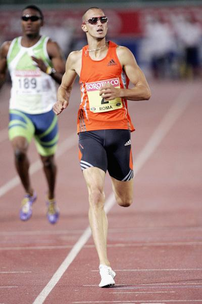 Jeremy Wariner clocks a superb 43.62 to win Rome Golden League's 400m (Getty Images)