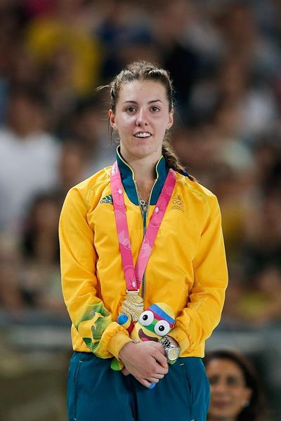 Jessica Thornton at the 2014 Youth Olympic Games (Getty Images )