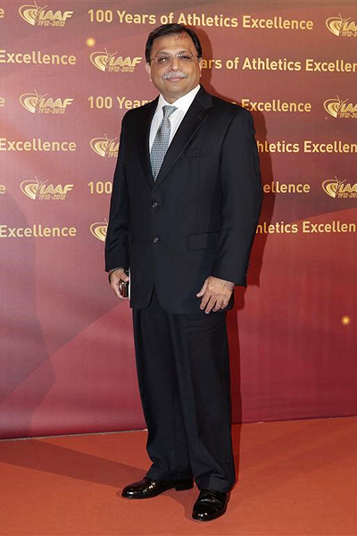 IAAF Council Member Adille J Sumariwalla (Getty Images)
