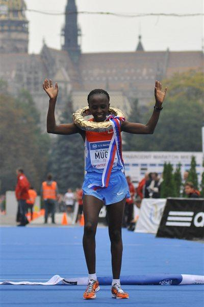 Course record for Hellen Mugo in Kosice (Organisers)