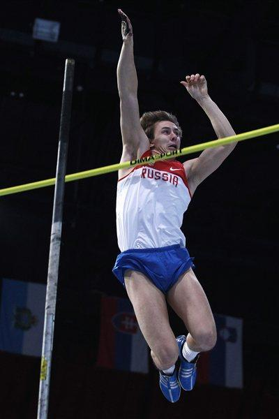 Dmitry Starodubtsev at the 2011 European Indoor Championships (Getty Images)