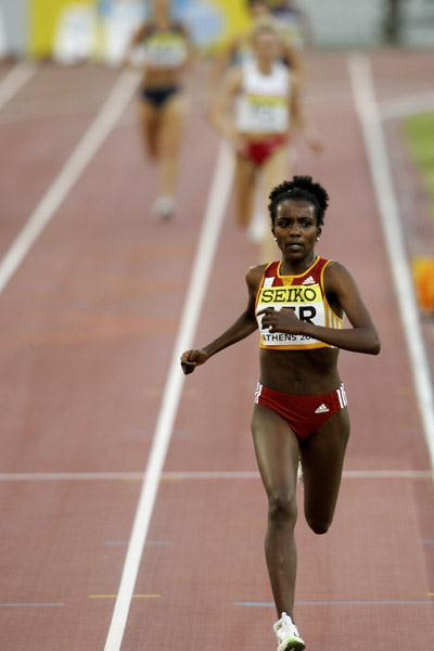 Yet another commanding victory for Tirunesh Dibaba - 2006 World Cup (Getty Images)