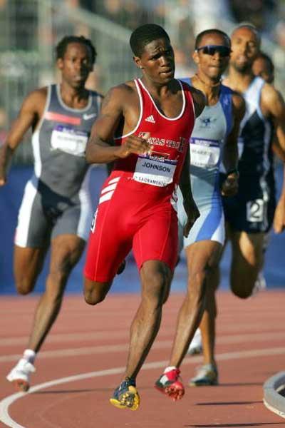 Jonathan Johnson - men's 800m winner - US Trials (Gettyn Images)