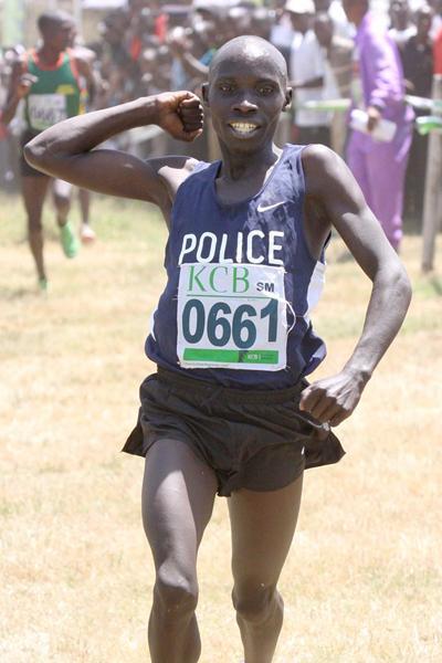 Philemon Rono wins Kenya's World Cross selection race in Nairobi (Stafford Ondego, The Standard)
