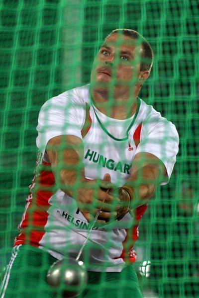 Krisztian Pars spins to the European title in Helsinki (Getty Images)