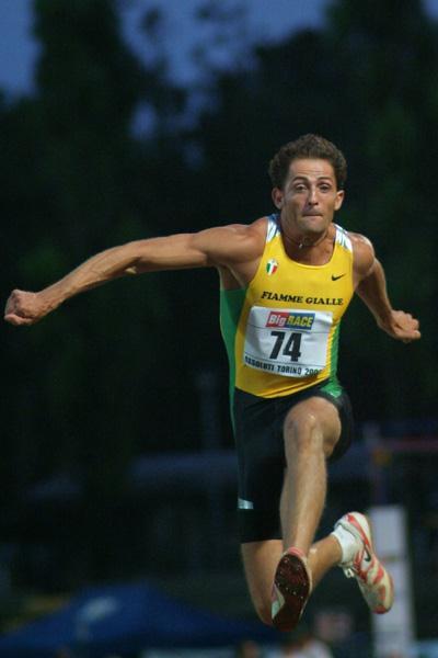 Frabrizio Donato wins Triple Jump nationals (Lorenzo Sampaolo)