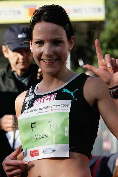 Sabrina Mockenhaupt (GER) (Getty Images / Bongarts)