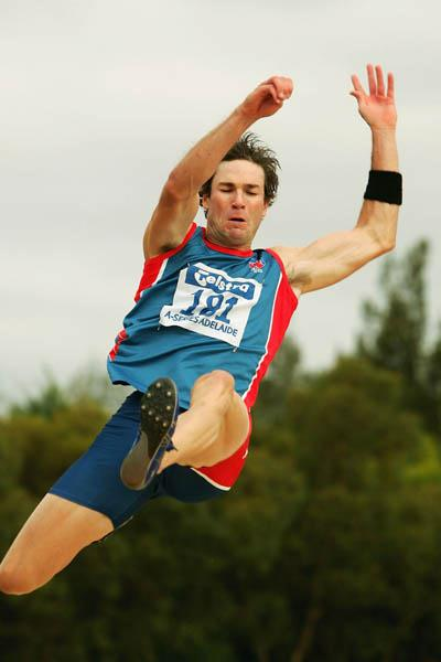 Tim Parravicini jumps 8.10m to win Adelaide meeting (Getty Images)