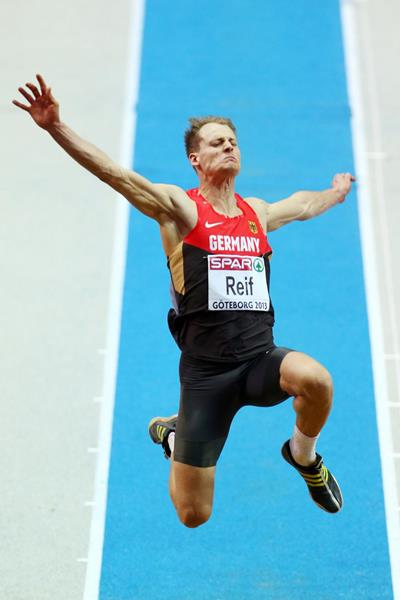 Germany's Christian Reif in the long jump (Getty Images)
