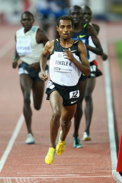 Kenenisa Bekele runs a world-leading time and meeting record in the 5000m (Getty Images)