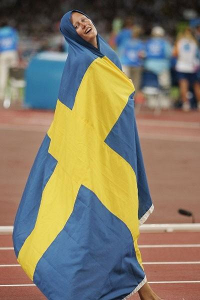 80 Years of Women Athletics at Olympic Games - Carolina Klüft - 2004 (Getty Images)