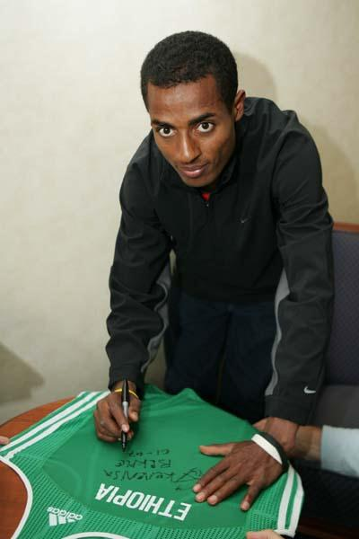 Kenenisa Bekele's donation (Getty Images)