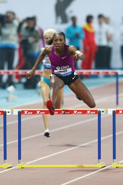 Impressive run and big win for Lashinda Demus in Shanghai (Errol Anderson)