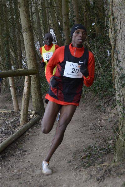 Japhet Korir working his way towards victory (Rosch Kohl)