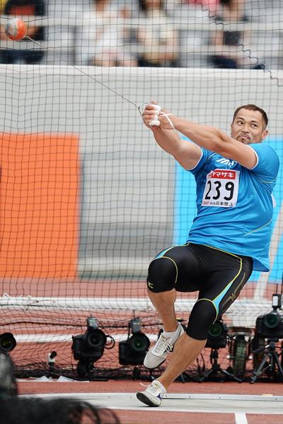 Another national Hammer title for Koji Murofushi (Getty Images)