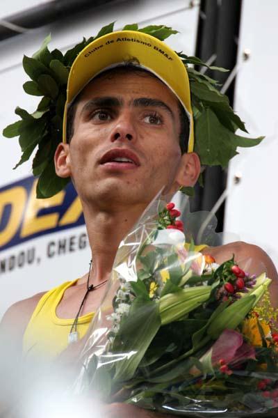 Marílson Gomes dos Santos (BRA) winning the Corrida de São Silvestre (Fernanda Paradizo)
