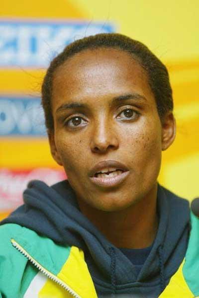 DerartuTulu of Ethiopia in Brussels (Getty Images)