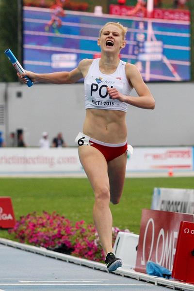 Patrycja Wyciszkiewicz at the 2013 European Athletics Junior Championships (Getty Images)