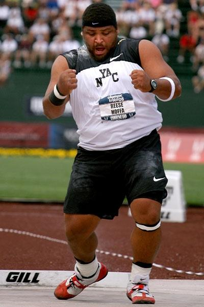 Reese Hoffa, U.S. Shot Put champion (Getty Images)