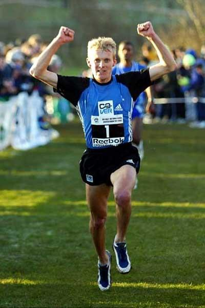 Sergiy Lebid wins Belfast Cross Country (Mark Shearman - Athletics Images)