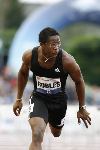 World record lean - 12.87 for Dayron Robles in Ostrava (graf.cz)