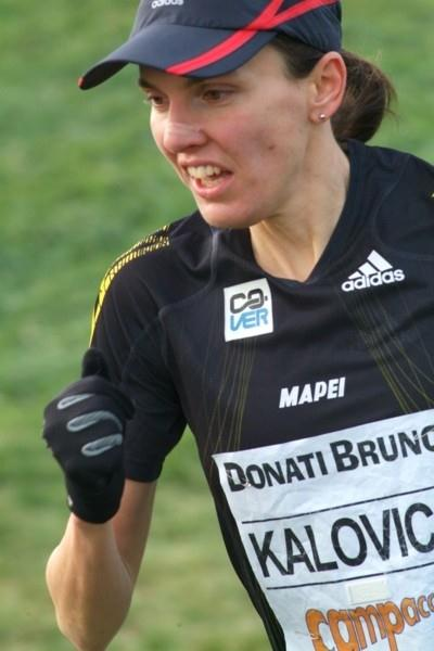 Aniko Kalovics from Hungary winning the women's Campaccio title in San Giorgio su Legnano for the third time (Lorenzo Sampaolo)