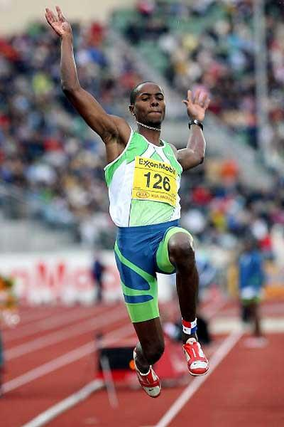 Irving Saldino leaps to victory in Oslo (Getty Images)