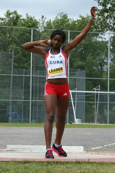 Yorgelis Rodriguez at the 2013 Pan American Combined Events Cup (Ottawa Lions)