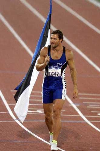 Decathlon - 2000 Olympic champion Erki Nool (© Allsport)